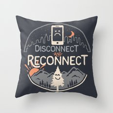 Reconnect... Throw Pillow