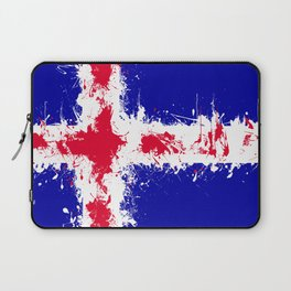 in to the sky, iceland Laptop Sleeve