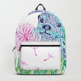 Otter in colors Backpack