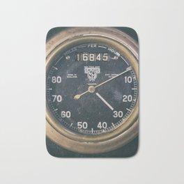 Vintage Speedometer Bath Mat