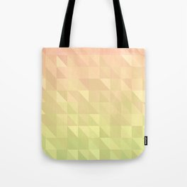 Pink and Green - Flipped Tote Bag