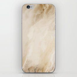 Brown Turquiose Marble texture iPhone Skin