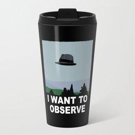 I Want to Observe Travel Mug