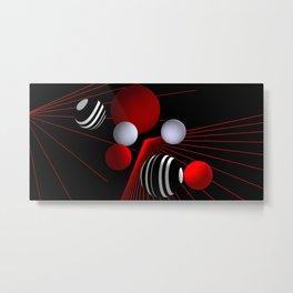 converging lines -4- Metal Print