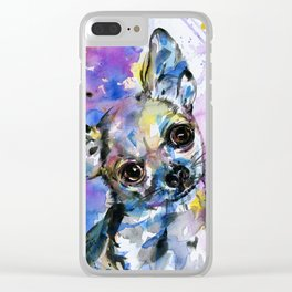Chihuahua No. 1 Clear iPhone Case
