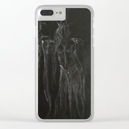 Night's Empress Clear iPhone Case