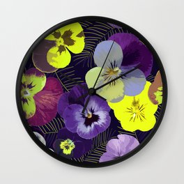 You Are Violet Wall Clock