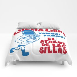 El ataque de las sillas Comforters
