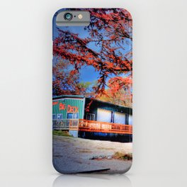 Bubba's Big Deck in Gruene, TX iPhone Case