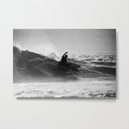 Iconic Indo Surfer Metal Print