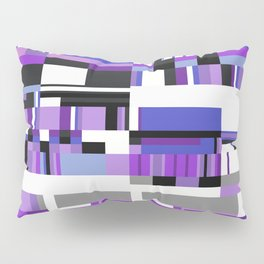 Debussy Little Shepherd (Purples) Pillow Sham