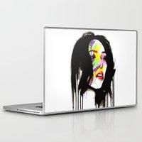 leia Laptop & iPad Skins featuring Leia by Robert Ekblom