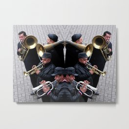 Syjam Orchestra Metal Print