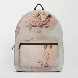 beach - pink champagne Backpack