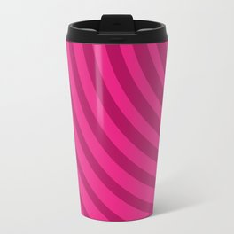 Circles (Fuchsia/DarkMagenta) Travel Mug