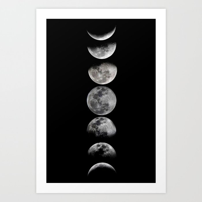 Phases of the Moon Kunstdrucke