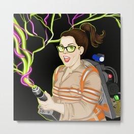 Abby Yates, Ghostbusters 2016 Metal Print