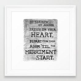 The Room of Merriment - Ingrid Framed Art Print