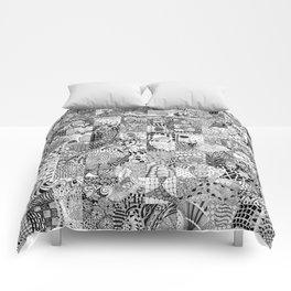 Doodling Together #2 Comforters