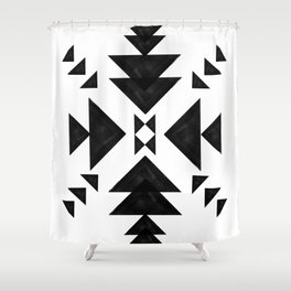Aztec Art Shower Curtain