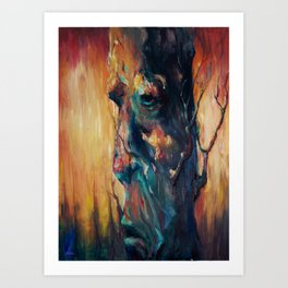 Weary of the Fire Art Print