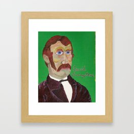 The Explorer Series: David Livingstone Framed Art Print