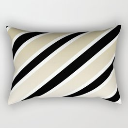TEAM COLORS 1.....gold,black Rectangular Pillow