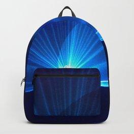 Blue laser Backpack