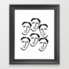 Boy Please Framed Art Print