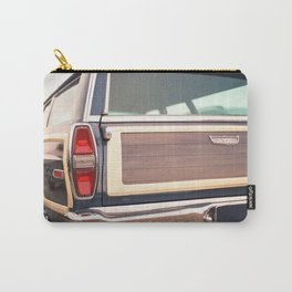 American classic car I Tail light I  US Road trip I Vintage photography Carry-All Pouch
