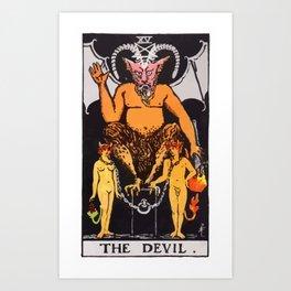 15 - The Devil Art Print