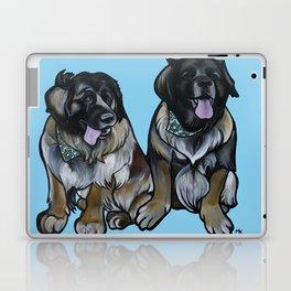 Simba and Snuffaluffagus the Leonbergers Laptop & iPad Skin