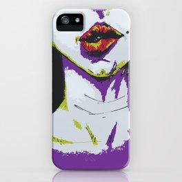 Woman portrait iPhone Case