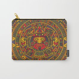 Aztec sun Carry-All Pouch