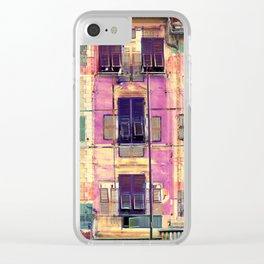 Portofino Clear iPhone Case