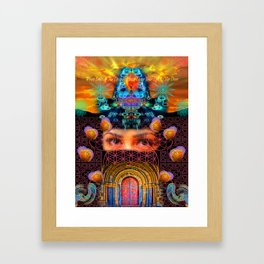 When Seeking The Divine, Please Leave Your Ego At The Door Framed Art Print