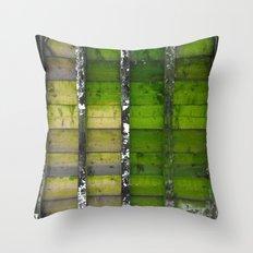 Nature Wooden Palette Throw Pillow
