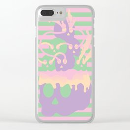 Necrosis Clear iPhone Case
