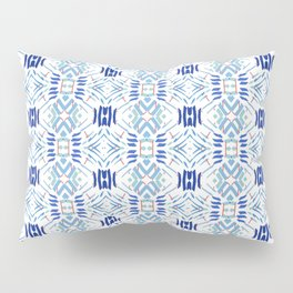 Asian Blue - inspired by Japanese textiles Pillow Sham