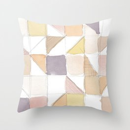 Watercolor Sketch Throw Pillow