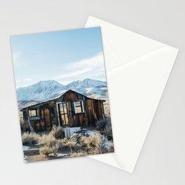 Lone Cabin Scene Stationery Cards