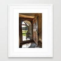 doors Framed Art Prints featuring Doors by Darren Wilkes Fine Art Images