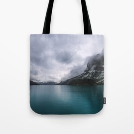 Landscape Photography Maligne Lake Mountain View | Turquoise Water | Alberta Canada Tote Bag