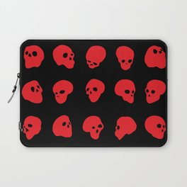 redhead - red on black Laptop Sleeve