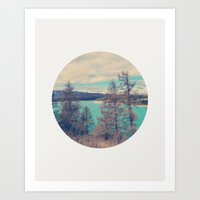 serenity Art Prints featuring Serenity by yuvalaltman
