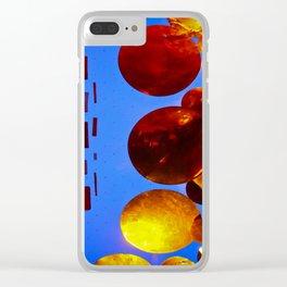 Black Hole Sun Clear iPhone Case