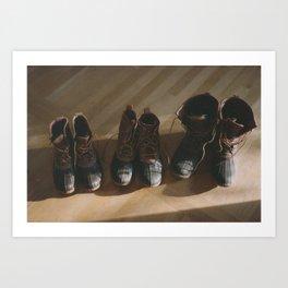 Bean Boots Art Print