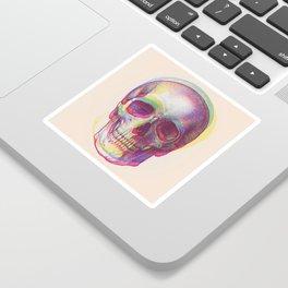 acid calavera Sticker