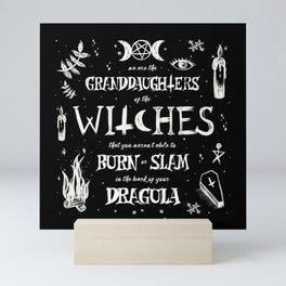 Witches You Couldn't Slam Mini Art Print
