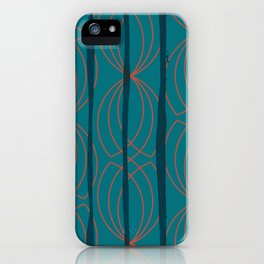 BLOCK STRIPES & GRAPIC I iPhone Case